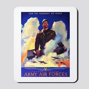 Ramparts We Watch Air Force Mousepad
