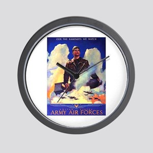 Ramparts We Watch Air Force Wall Clock
