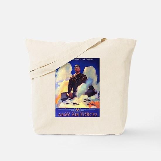 Ramparts We Watch Air Force Tote Bag