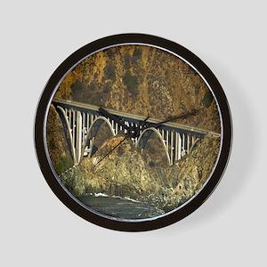 Big Sur Bridge 2 Wall Clock