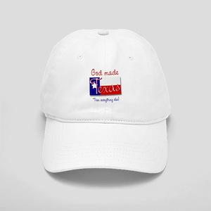 God Made Texas Cap