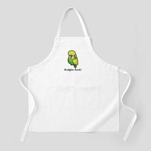 Budgies Rock! BBQ Apron