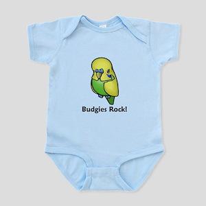 Budgies Rock! Infant Bodysuit