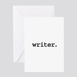 Comedy writer greeting cards cafepress writer greeting card m4hsunfo
