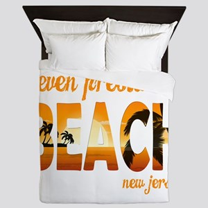 New Jersey - Seven Presidents Oceanfro Queen Duvet
