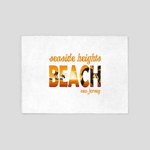 New Jersey - Seaside Heights 5'x7'Area Rug