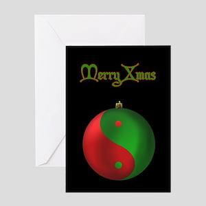 Xmas Ornament Greeting Card