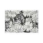Honey Bee Wildflowers Art Fridge Magnets 100 pack
