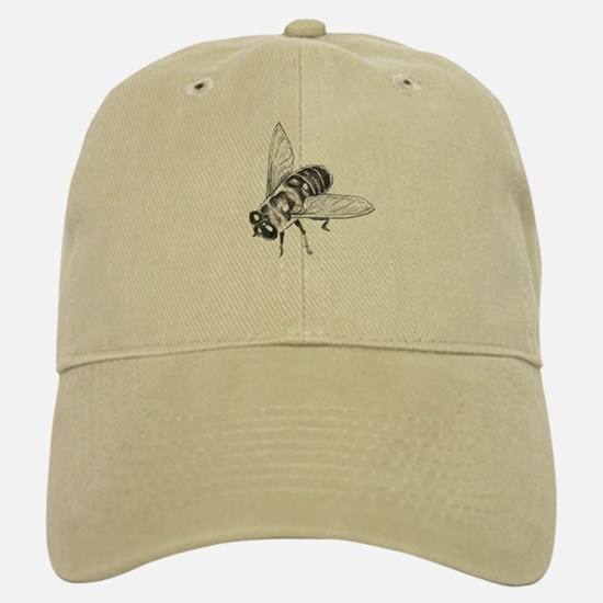 Honey Bee Baseball Baseball Cap Insect Art Baseball Baseball Baseball Cap