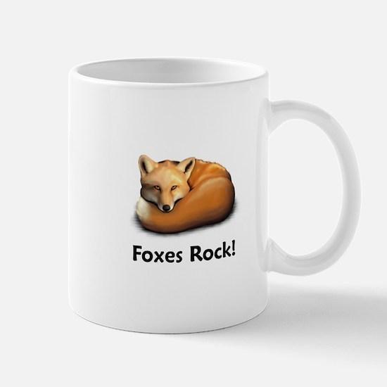 Foxes Rock! Mug