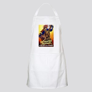 Fighting Filipinos Military Soldier BBQ Apron