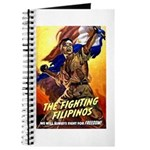 Fighting Filipinos Military Soldier Journal