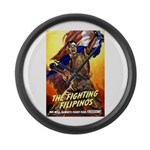 Fighting Filipinos Military Soldier Large Wall Clo