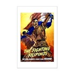 Fighting Filipinos Military Soldier Mini Poster Pr