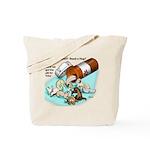 Ferret Pill Tote Bag