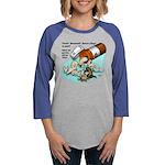 Ferret Pill Womens Baseball Long Sleeve T-Shirt