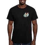 Ferret Pills Men's Fitted T-Shirt (dark)