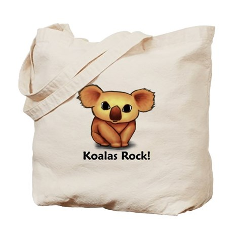 Koalas Rock! Tote Bag