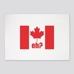 Canada Eh? 5'x7'Area Rug