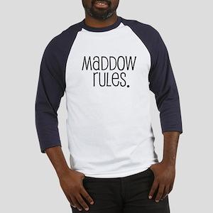 Maddow Rules. Baseball Jersey
