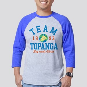Team Topanga Boy Meets World Mens Baseball Tee