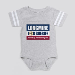 Longmire For Sheriff Baby Football Bodysuit