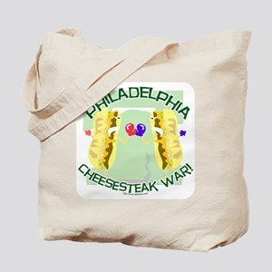 Philly Cheesesteak War Tote Bag