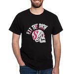 Eat the Rich Punk Skull Dark T-Shirt