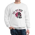 Eat the Rich Punk Skull Sweatshirt
