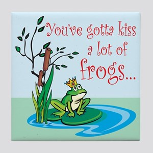 Frog Prince items Tile Coaster