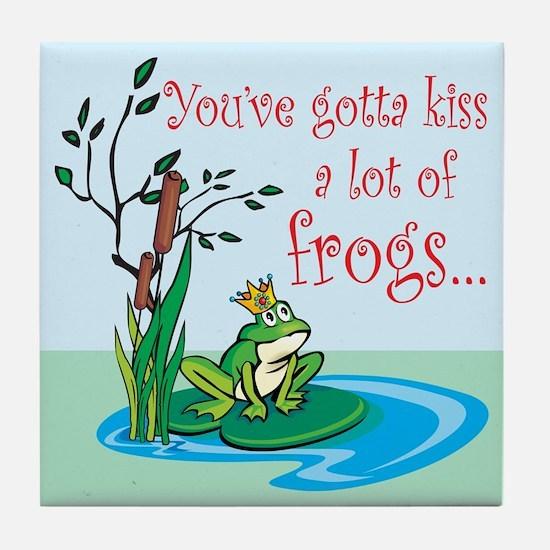 Frog Prince items Tile Coaster