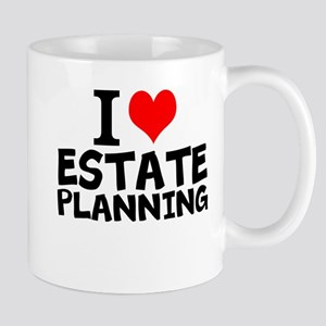 I Love Estate Planning Mugs