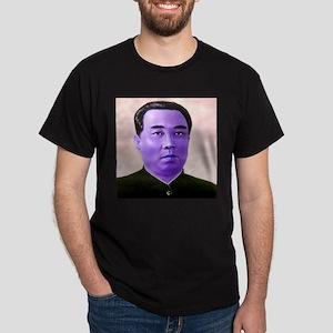Purple Kim Il-sung Dark T-Shirt