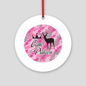 Camo Princess Ornament (Round)