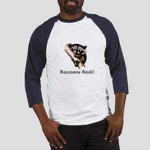 Raccoons Rock! Baseball Jersey