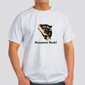 Raccoons Rock! Light T-Shirt