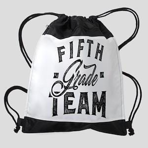 Team Fifth Grade Drawstring Bag
