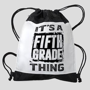 Fifth Grade Thing Drawstring Bag