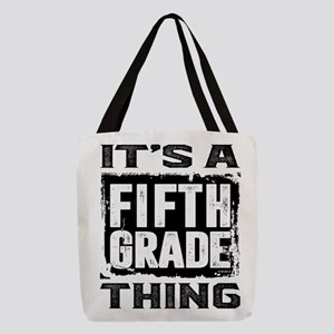 Fifth Grade Thing Polyester Tote Bag