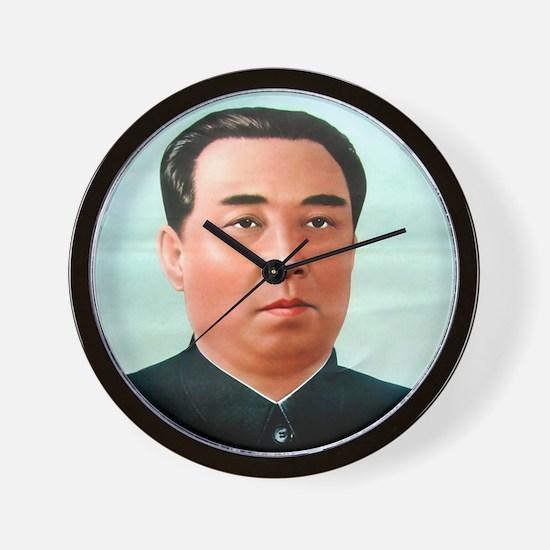Kim Il-sung Wall Clock