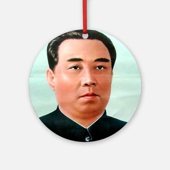 Kim Il-sung Ornament (Round)
