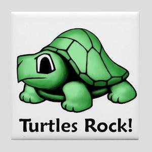 Turtles Rock! Tile Coaster
