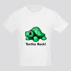 Turtles Rock! Kids Light T-Shirt