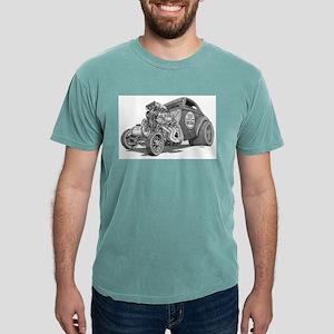 Old School Gasser Ash Grey T-Shirt