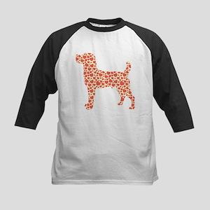Jack Russell Terrier Kids Baseball Jersey