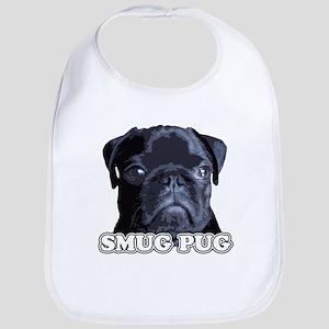 Smug Pug! Bib