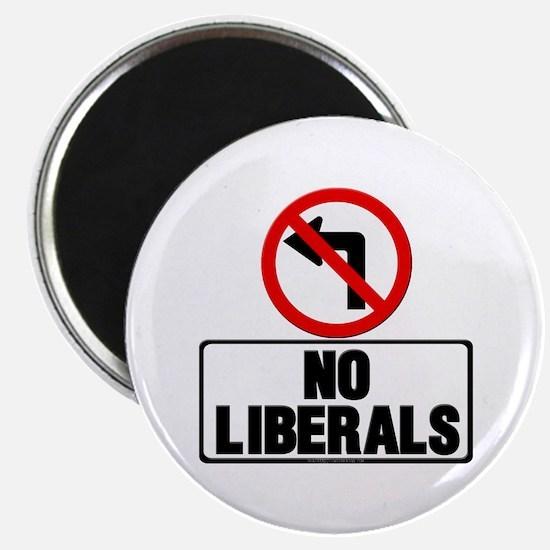 No Left Turn Magnet