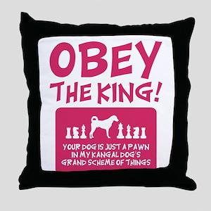 Kangal Dog Throw Pillow