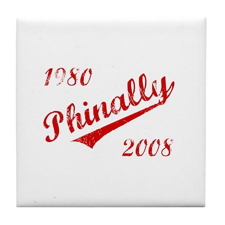 Phinally Tile Coaster