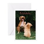 Toller Christmas Cards (Pk of 10)